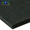 SOL RUBBER wholesale rubber gym flooring mat used fine SBR granules