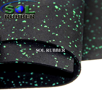 8mm Fitness Roll Rubber Floor