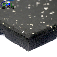 Home Fitness Flooring Rubber Mat