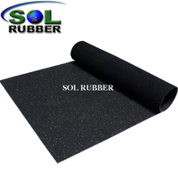 Commerical Gym Flooring Rubber Roll