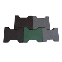 Comfortable Horse Foot Dog Bone Rubber Flooring Pavers