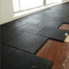 Cheap 15mm Home Use Recycled Rubber Gym Floor Tile