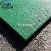Playground rubber tile