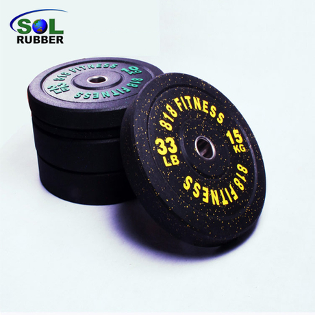 New Style Competition Rubber Weight Bumper Plate
