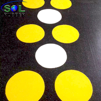 DIY Logo Gym Interlock Rubber Flooring tiles