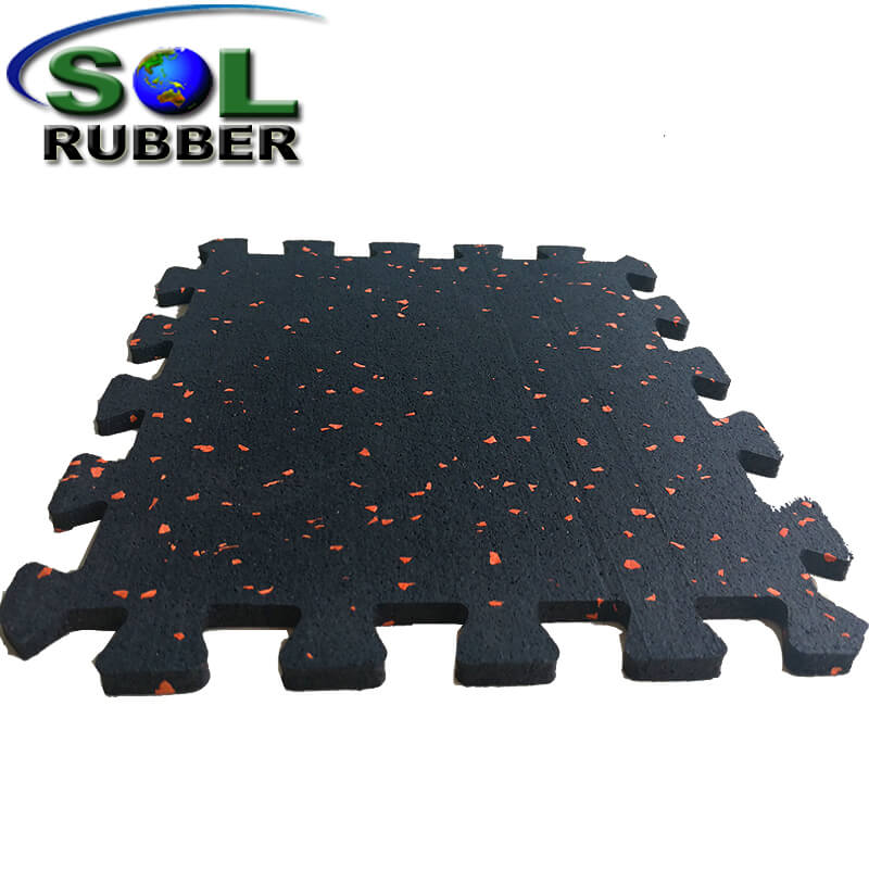 8mm Gym Interlock Rubber Mat