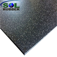 High Density Compound Rubber Floor Tile