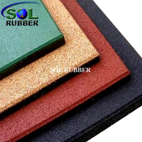25mm Playground Rubber Mat