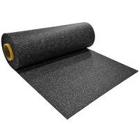 Gym Equioment Shock Proof Rubber Gym Flooring rolls