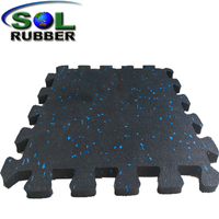 Thick Interlocking Rubber Floor Tiles