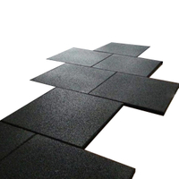 Commercial Fitness Shock Absorption SBR Rubber Mat with EPDM Flecks
